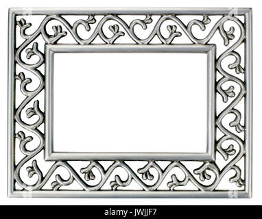 Metal Picture frame - Stock Image