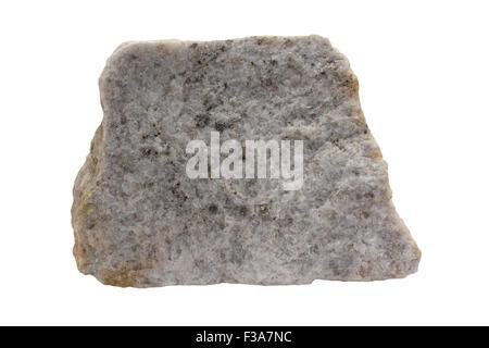 Tonalite (plagioclase-rich granitoid) - Stock Image
