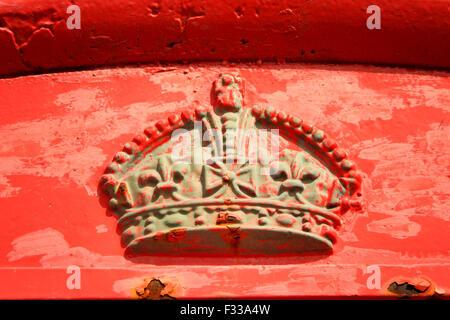 royal crest - Stock Image