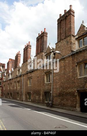 Pembrooke Street, Cambridge, Cambridgeshire, UK - Stock Image
