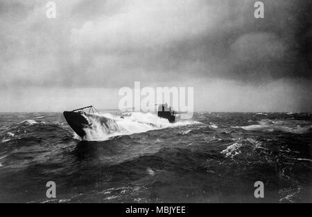 Unterseeschiff - Stock Image