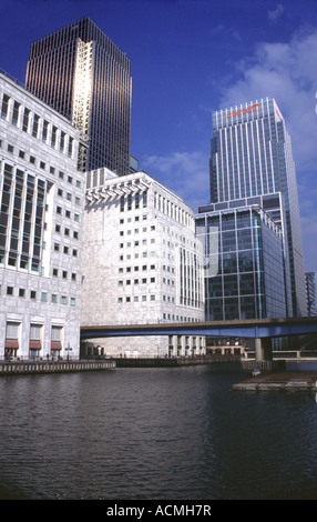 Canary Wharf Docklands London - Stock Image