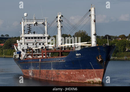 General Cargo Ship Ece G - Stock Image