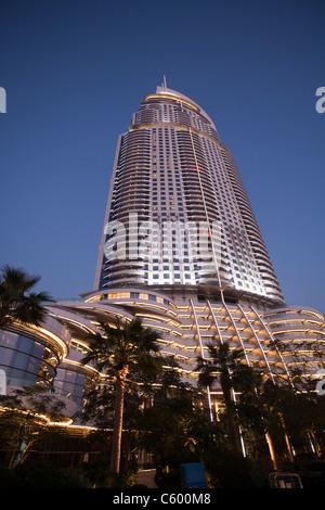 The Adress Five Star Hotel near Burj Khalifa near Dubai Mall, - Stock Image