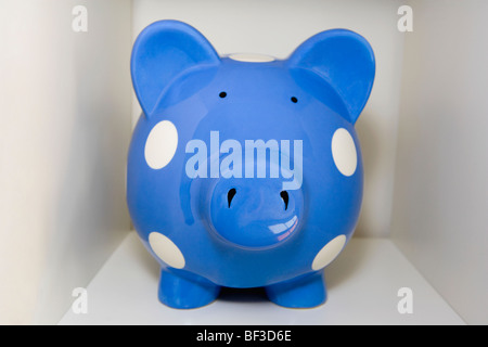 Close-up of a piggy bank - Stock Image
