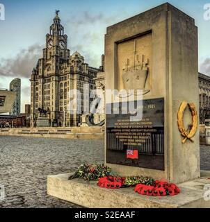 Lest we forget, Liverpool - Stock Image