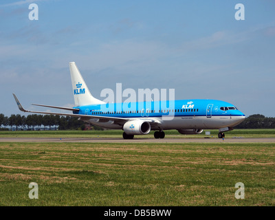 PH-BXM KLM Royal Dutch Airlines Boeing 737-8K2(WL) 2 - Stock Image