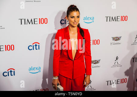 Alex Morgan attends TIME 100 GALA on April 23 in New York City - Stock Image