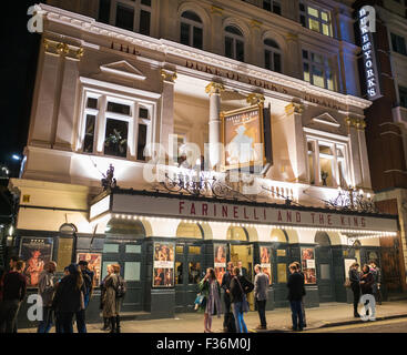 Farinelli and the King at The Duke of York's Theatre St Martin's Lane in London - Stock Image