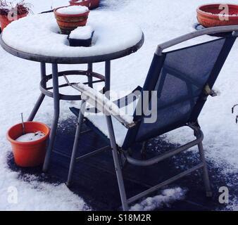 Snow joke - Stock Image