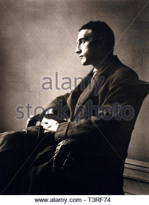 Marcel Duchamp born 1887 French-American painter sculptor chess player writer photo Man Ray American United States - Stock Image