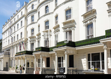 Prince's Square, Bayswater, City of Westminster, Greater London, England, United Kingdom - Stock Image