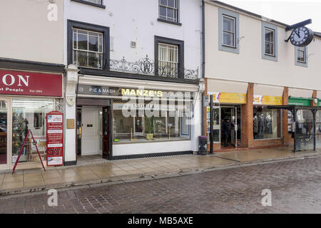 Manze's Pie & Mash Shop, Braintree, Essex - Stock Image