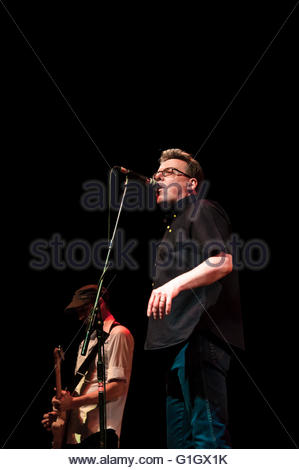 Southport, England UK. 14th May 2016. Scottish band The Proclaimers play Southport Theatre in Merseyside, England, - Stock Image