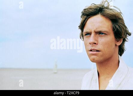 MARK HAMILL, STAR WARS: EPISODE IV - A NEW HOPE, 1977 - Stock Image