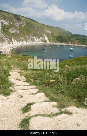 Lulworth Cove, Dorset, UK. - Stock Image