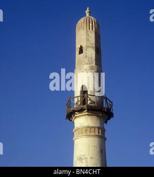 Minaret of the Al Khamis Mosque Manama Bahrain - Stock Image