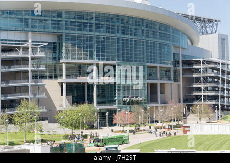 NRG stadium - Stock Image