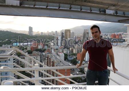 Vicente Quintero. Photo taken from CitiBank Centro Comercial El Recreo (El Recreo Shopping Mall) in Caracas Venezuela. Sabana Grande Caracas. - Stock Image