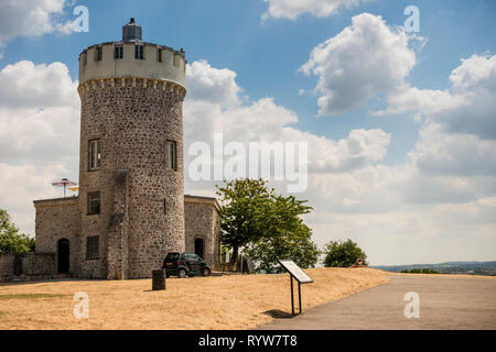 Clifton Observatory, former mill, on Clifton Down near to Clifton Suspension Bridge, Bristol, UK - Stock Image