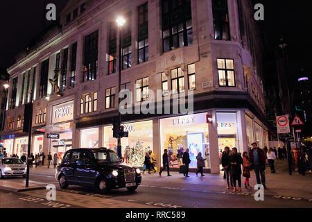 Lipsy Store on Oxford Street, London, England, UK - Stock Image