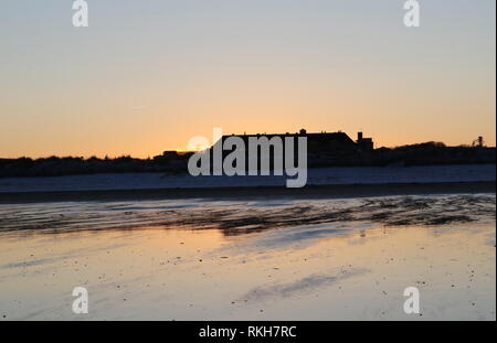 Old Course Hotel at dusk St Andrews Fife Scotland  February 2019 - Stock Image