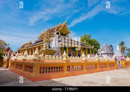 Wat Kandal, Battambang, Cambodia, Asia - Stock Image