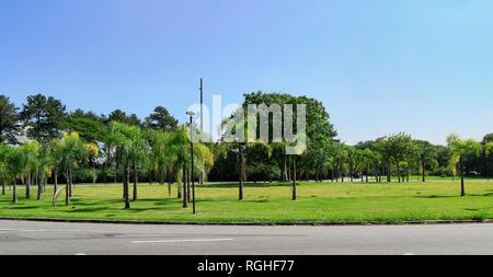 USP campus. Landscapes. University of Sao Paulo. Brazil. South America - Stock Image