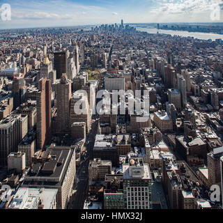Manhattan New York City - Stock Image