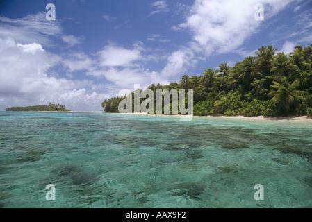 Majuro Atoll islands Marshall Islands - Stock Image
