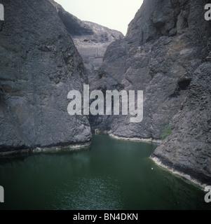 The Tanks Aden Yemen - Stock Image