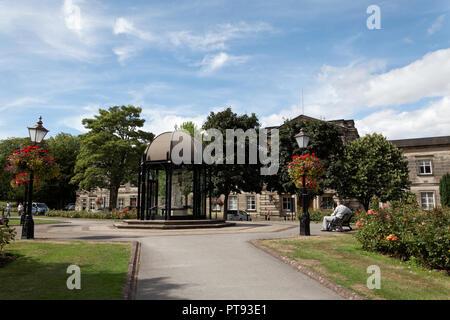 The Pavilion at Crescent Gardens, Horrogate, Yorkshire, England, UK - Stock Image