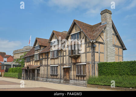 Shakespeare's birthplace stratford - Stock Image
