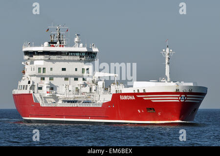 Chemical/Oil Products Tanker Ramona - Stock Image