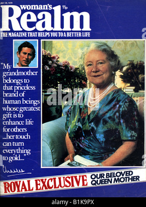 Woman's Realm Magazine 29 July 1978 FOR EDITORIAL USE ONLY - Stock Image