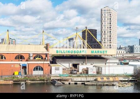 Billingsgate Market, London, UK - Stock Image
