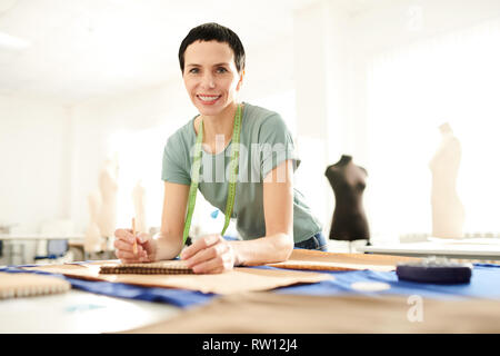 Professional in tailoring - Stock Image
