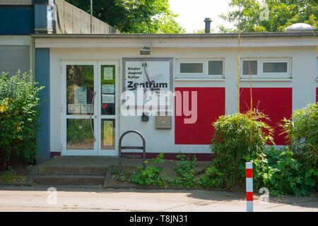 Deutschland, Nordrhein-Westfalen, Wetter (Ruhr), Jugendzentrum - Stock Image