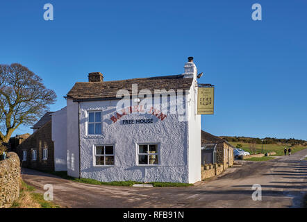 The Barrel Inn at Bretton. Peak District National Park, Derbyshire, England. - Stock Image