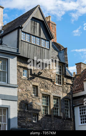 Moubray House, High Street, Royal Mile, Edinburgh, Scotland, UK - Stock Image