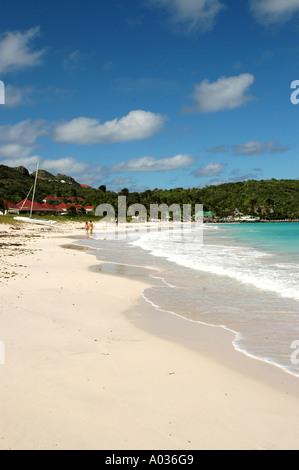 St Barths st jean beach - Stock Image
