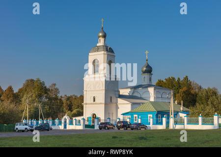 Assumption church, Sitenka, Moscow region, Russia - Stock Image