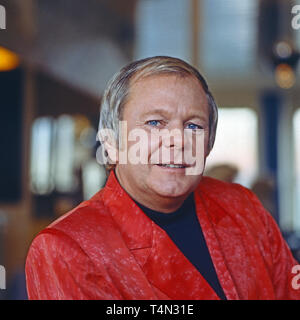 Graham Bonney, britischer Entertainer und Schlagersänger, Deutschland 1992. British schlager singer and entertainer Graham Bonney, Germany 1992. - Stock Image