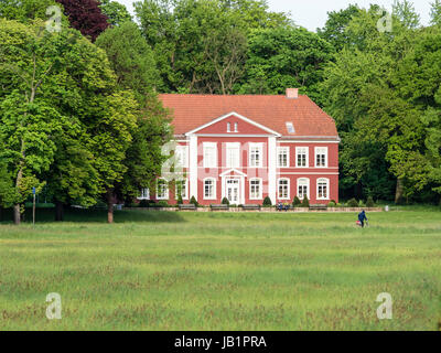 Thaer house,  named after Daniel Albrecht Thaer, founder of modern agriculture science, Celle, Germany - Stock Image