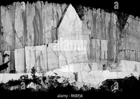 Marble quarry - Stock Image