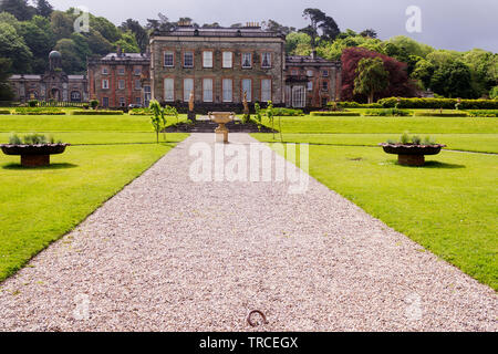 Entrance to Famous Bantry House and Gardens in the town of Bantry in County Cork,Ireland. - Stock Image