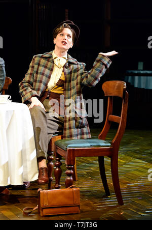 Liz White playing Joy Gresham in Shadowlands by William Nicholson at Chichester Festival Theatre, West Sussex, UK. 1 May 2019. - Stock Image
