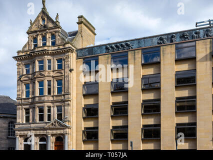 The Standard Life building, George Street, Edinburgh, Scotland, UK - Stock Image