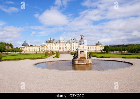 Drottningholm Palace Stockholm - Stock Image