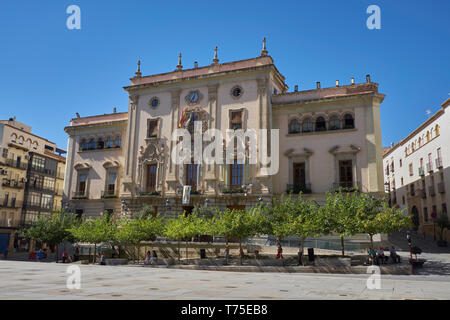 Town hall of Jaén. Andalusia, Spain. - Stock Image